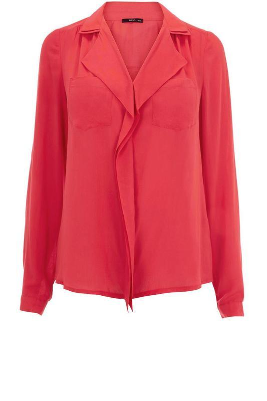 Oasis коралловая блуза