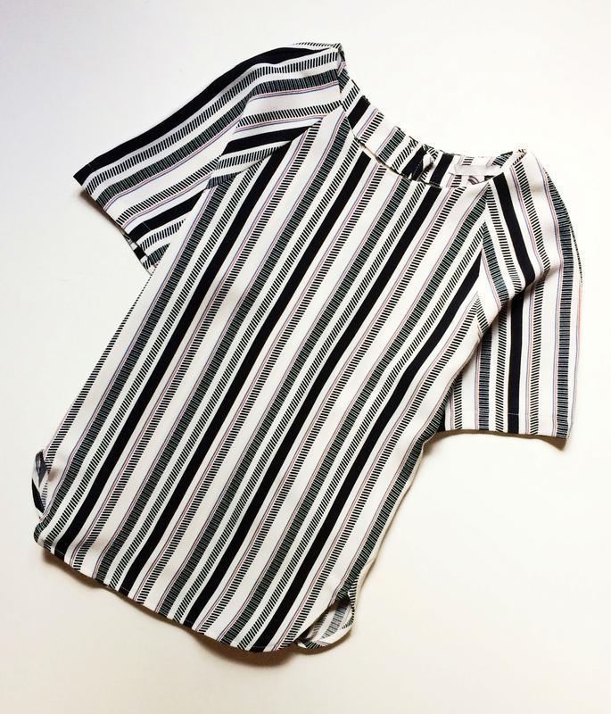 H&m полосатая блуза