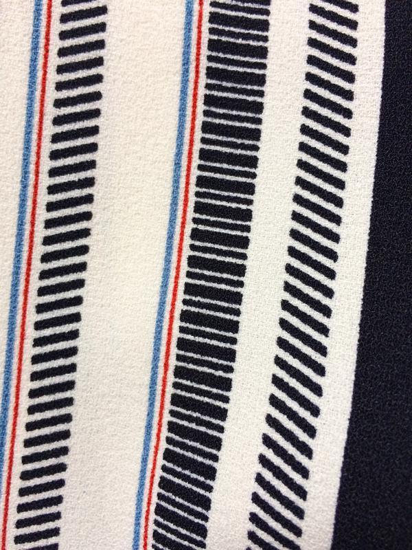 H&m полосатая блуза - Фото 3