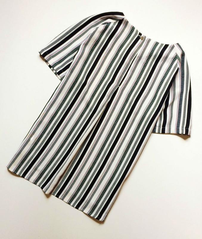 H&m полосатая блуза - Фото 4