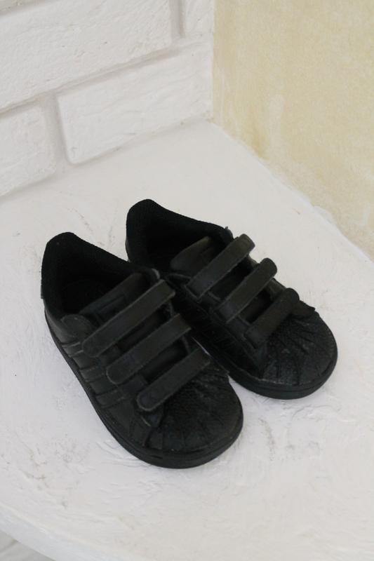 Чёрные кроссовки adadas 23 размер 14,5 см - Фото 3
