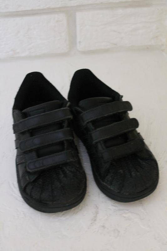 Чёрные кроссовки adadas 23 размер 14,5 см - Фото 6