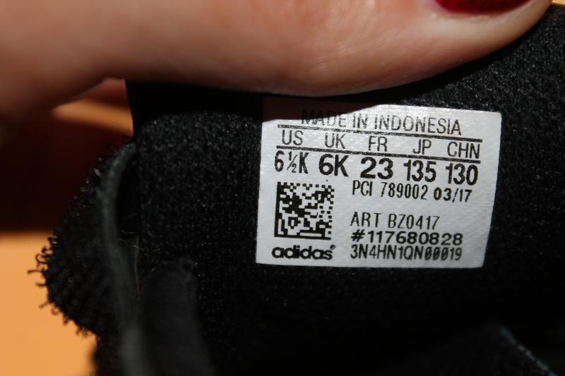 Чёрные кроссовки adadas 23 размер 14,5 см - Фото 7