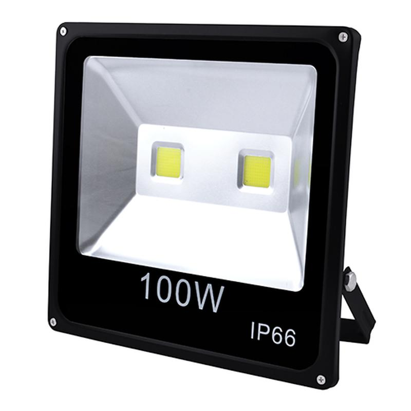 Прожектор светодиодный  100W  2COB, IP66 (влагозащита).