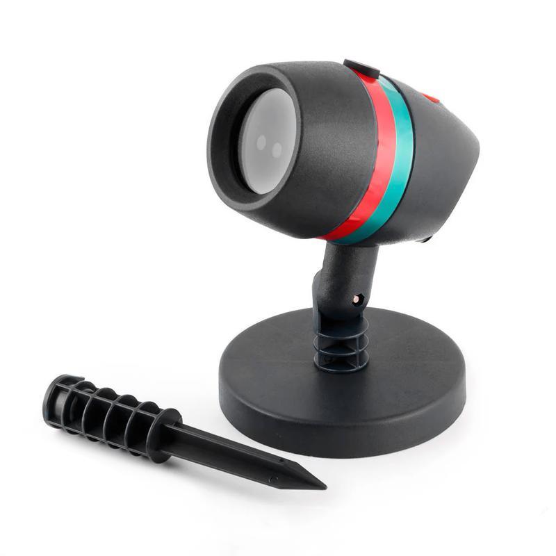 Уличный лазерный проектор Star Shower Motion новогодний - Фото 2