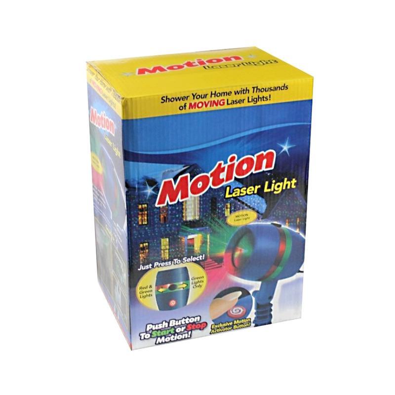 Уличный лазерный проектор Star Shower Motion новогодний - Фото 4