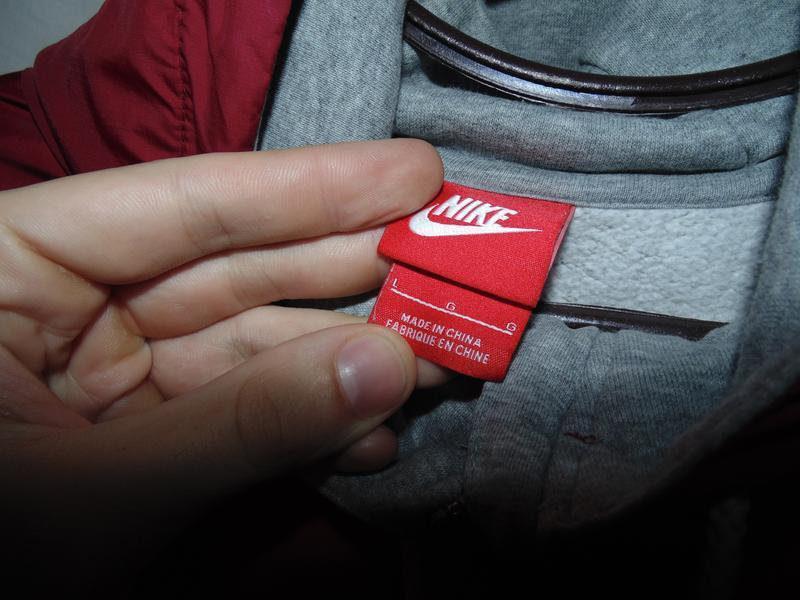 Куртка олимпийка достаточно плотная nike оригинал - Фото 6