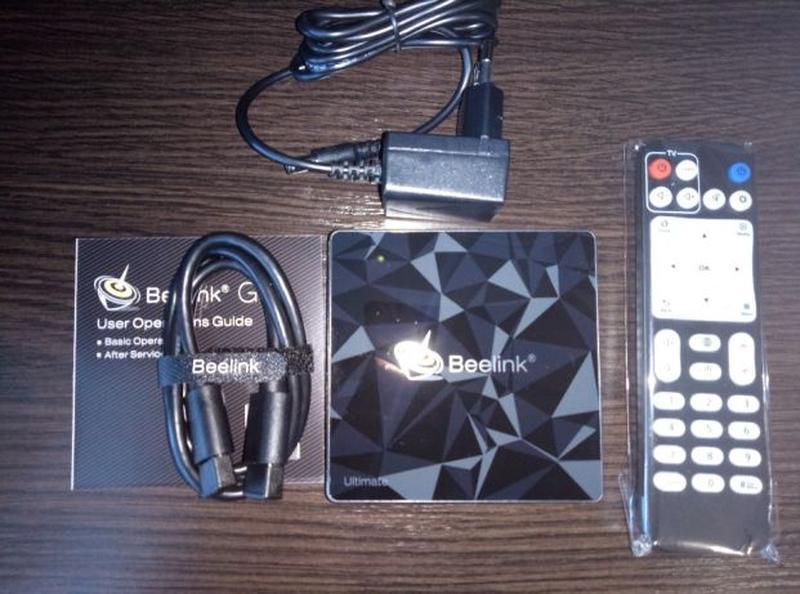 Смарт ТВ приставка Beelink GT1 Ultimate 3/32 Х92 Х96