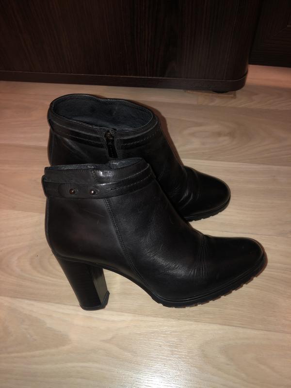 Кожаные ботинки !!! 40 размер !!!