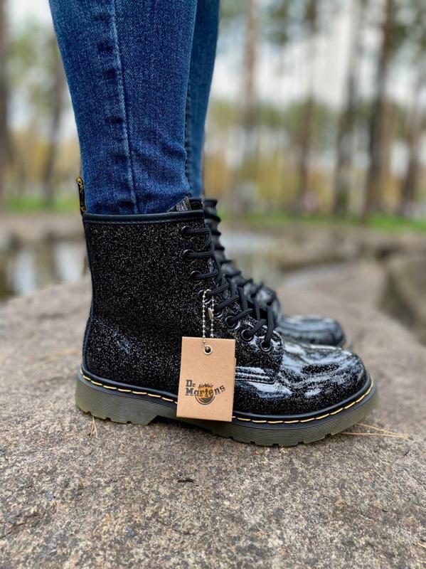 Шикарные женские ботинки dr.martens 1460 galaxy наложка