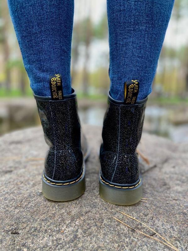 Шикарные женские ботинки dr.martens 1460 galaxy наложка - Фото 6