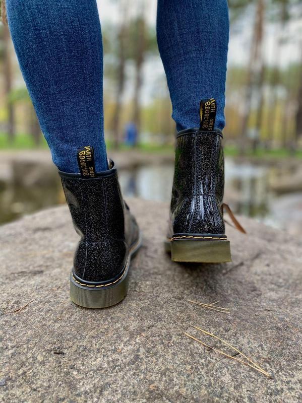 Шикарные женские ботинки dr.martens 1460 galaxy наложка - Фото 7