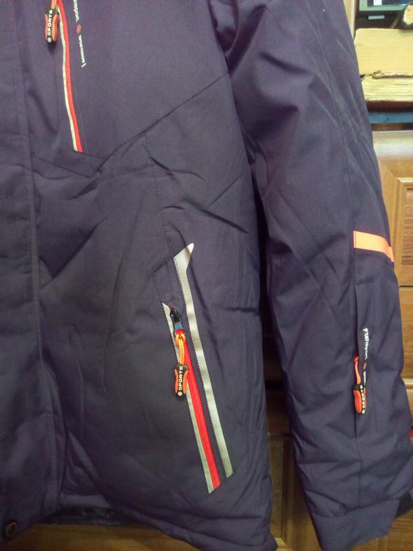 Куртка Парка мужская зимняя р.52-54 - Фото 4