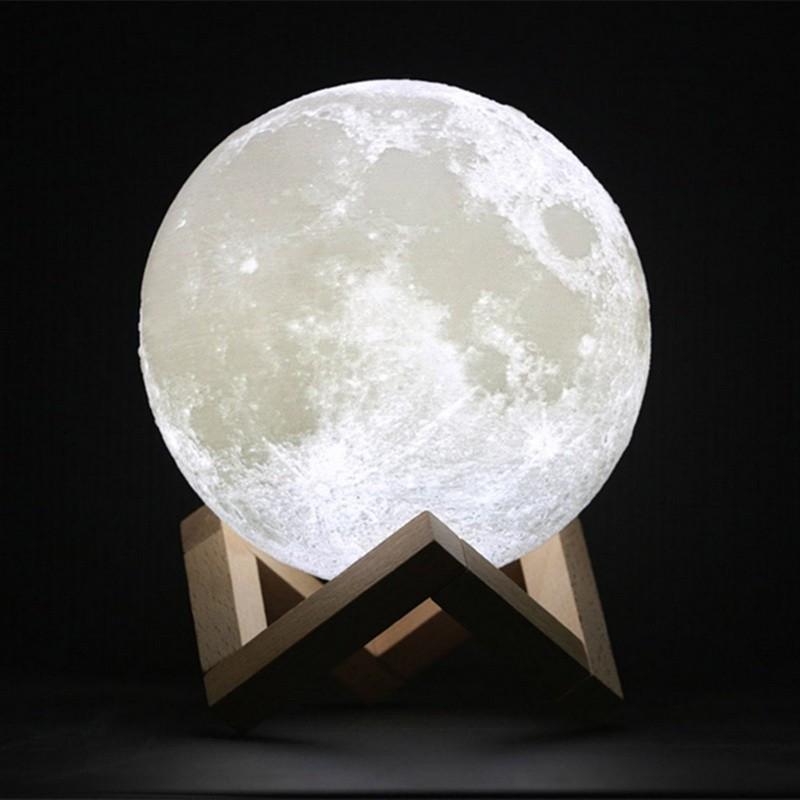 Нічник , в формі місяця