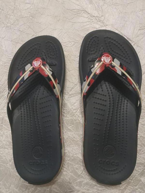 Шлепанцы вьетнамки crocs р. 33-34 (j-2)