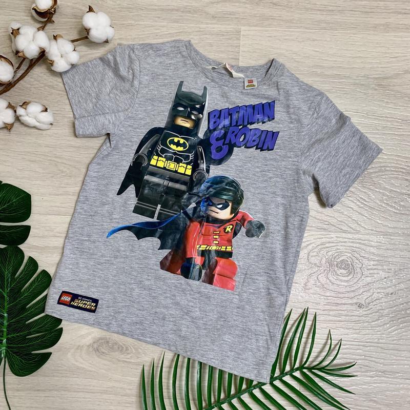 Футболка лего бэтмен и робин