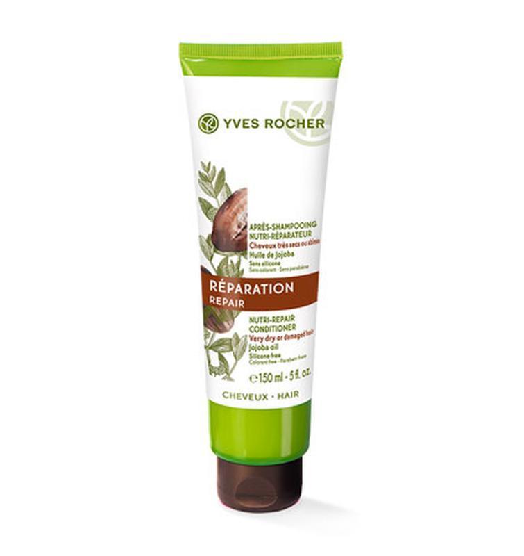 Бальзам волос питание восстановление с маслом жожоба yves rocher
