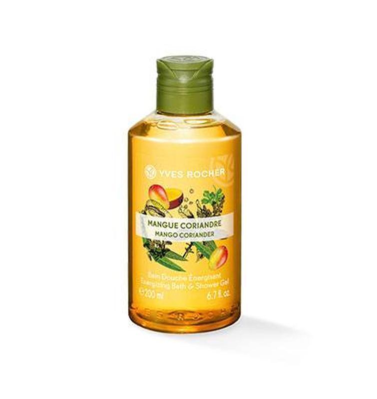 Гель для ванны и душа манго - кориандр 200 мл yves rocher ив роше