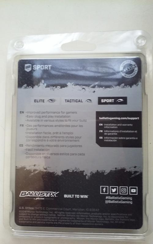 Память Crucial Ballistix Sport 16GB DDR4 3000 BLS2K8G4D30BESBK - Фото 2