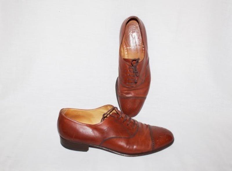 """Туфли """"инспектор""""кожа от тм elegant pavone италия"""