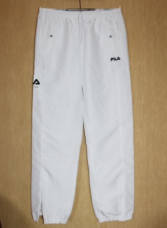 Отличные спортивные штаны брюки белые fila оригинал