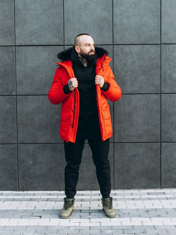Зимняя куртка ASOS Аляска 2020 Парка Пуховик бушлат на лютые моро - Фото 9