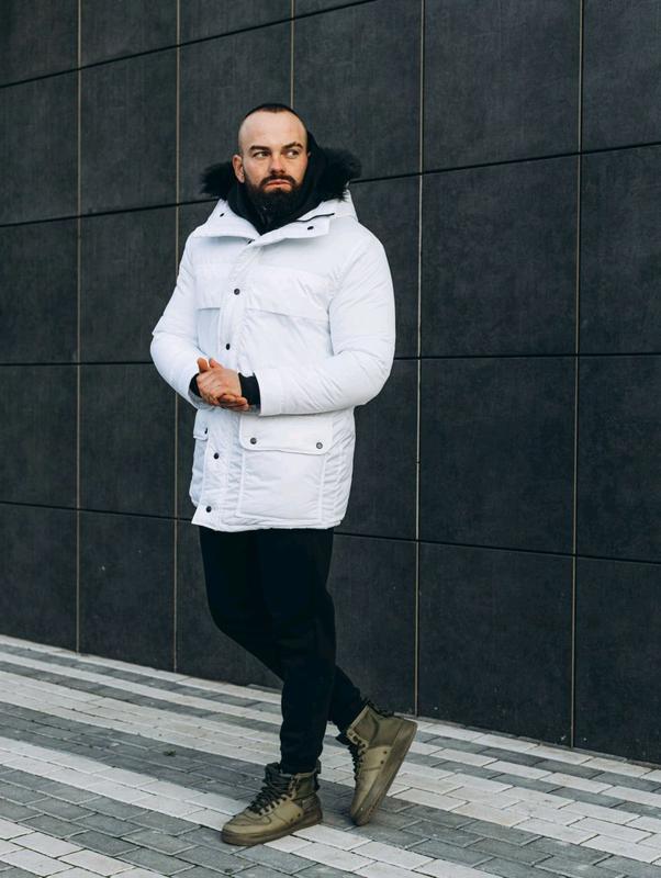 Зимняя куртка ASOS Аляска 2020 Парка Пуховик бушлат на лютые моро - Фото 4
