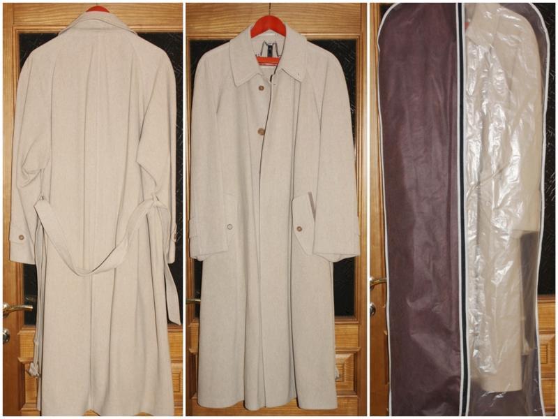 Стильное мужское пальто кашемир демисезонное, blicker internation