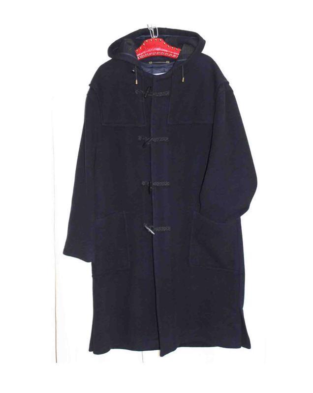 Пальто  дафлкот синий деми капюшон bugatti, германия