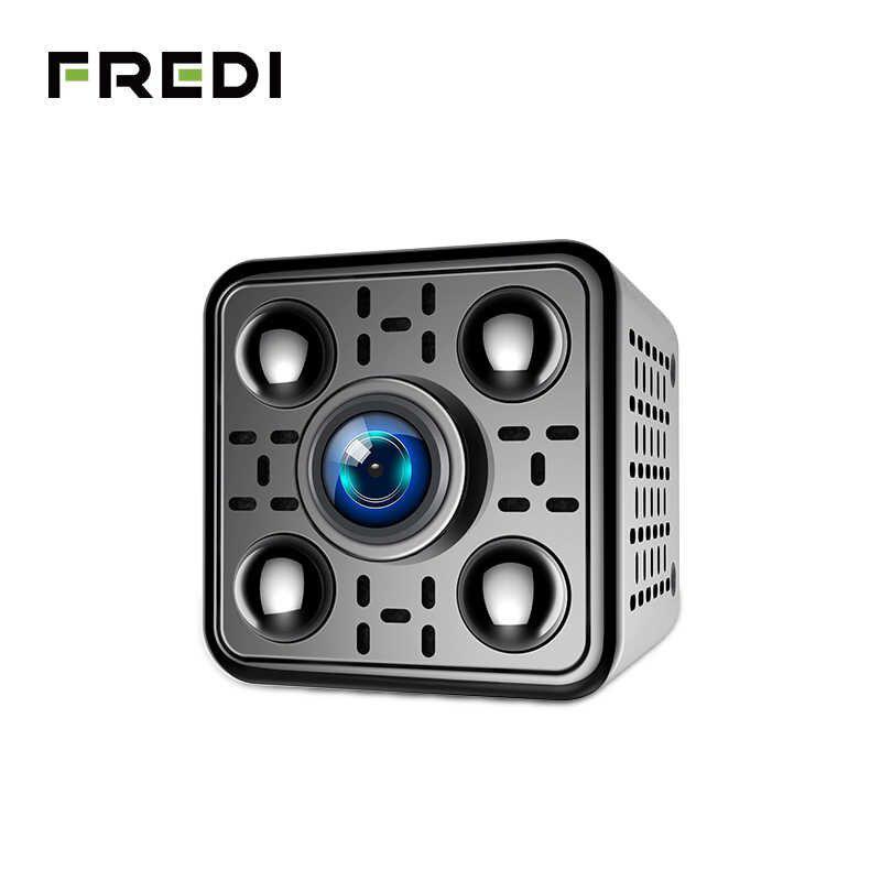 FREDI, мини беспроводная ip-камера 1080 P, камера безопасности, W
