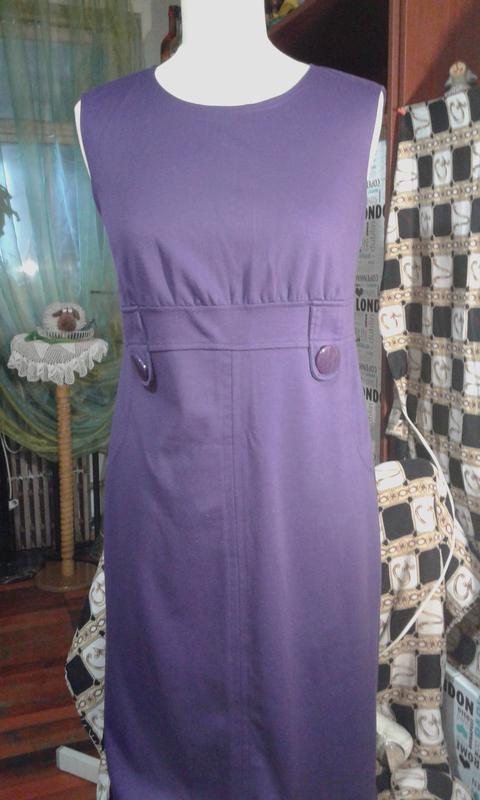 Сарафан-платье трикотаж-модно стильно комфортно ooji