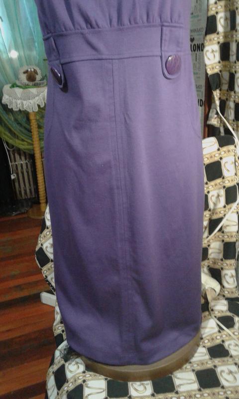 Сарафан-платье трикотаж-модно стильно комфортно ooji - Фото 2