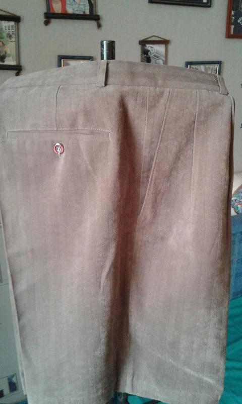 Классические шорты с высокой посадкой р 50-модно стильно и кра... - Фото 3