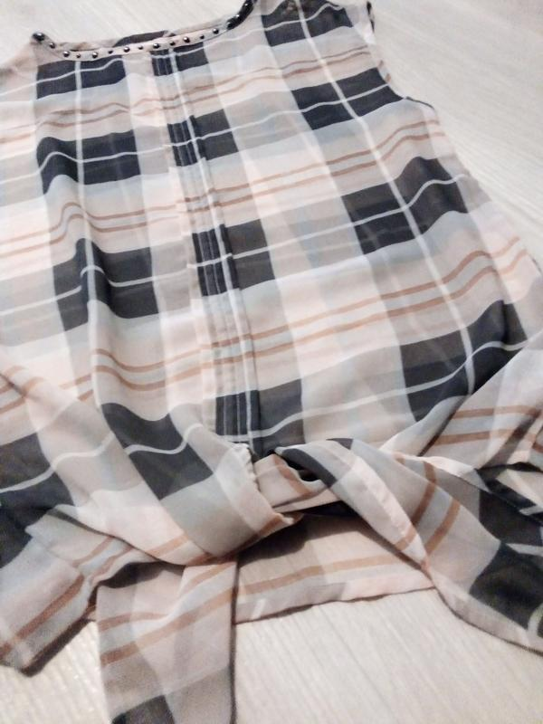 Майка топ блузка с завязками next
