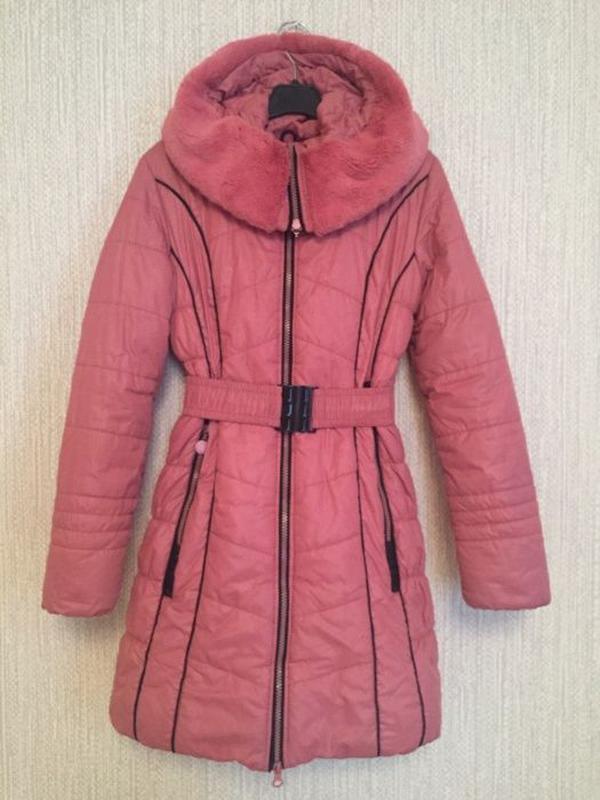 Зимняя куртка Black&red р. S (8-10 лет)