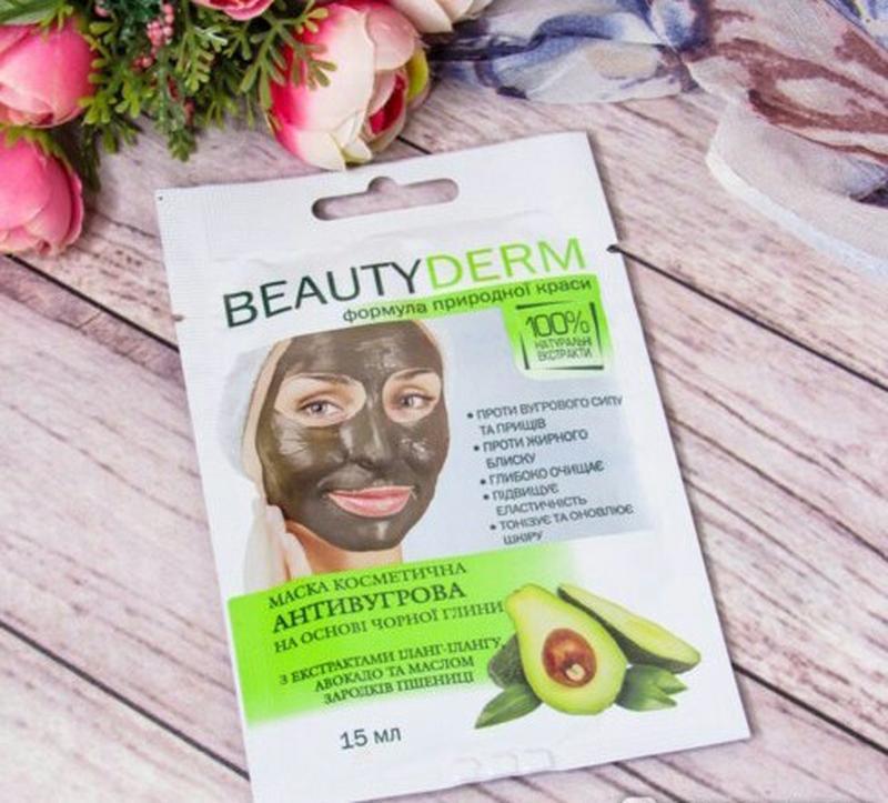 Маска для лица beauty derm антиугревая