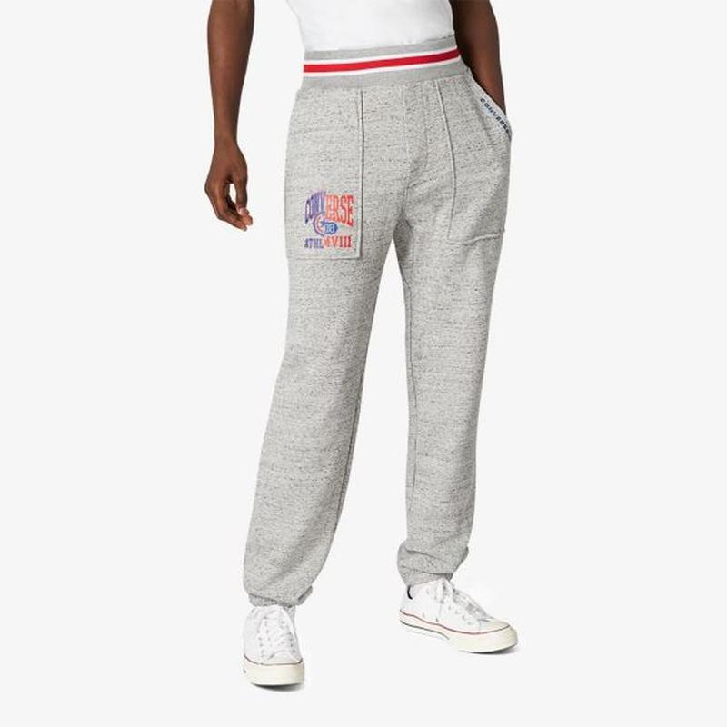 Спортивные штаны converse теплые зимние на флисе оригинал m-l