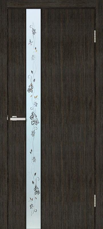 Двери межкомнатные 80×200см с плинтусом и комплектом ручек