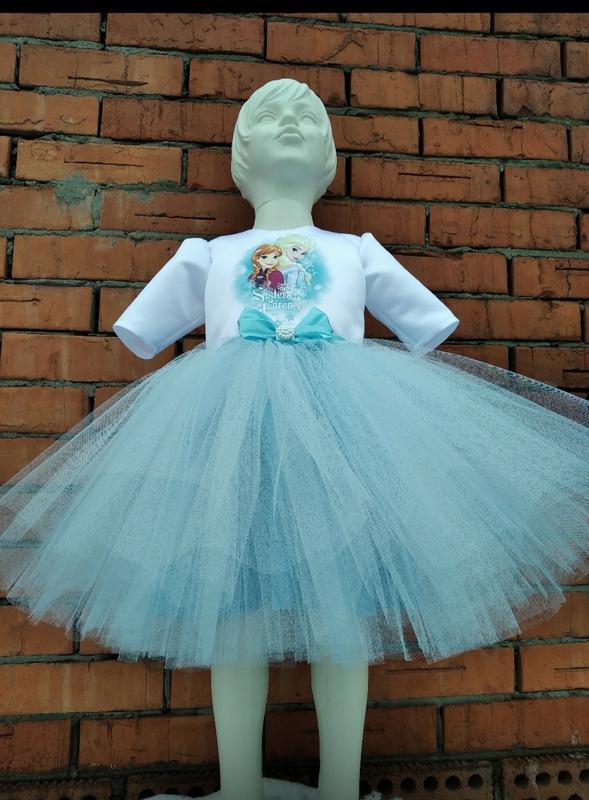 Платье Эльза нарядное, праздничное для девочек