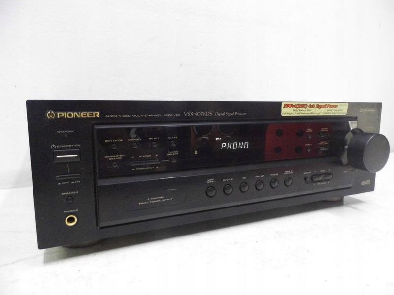 Ресивер ( усилитель + тюнер) AV-ресивер PIONEER VSX-407RDS Из ...