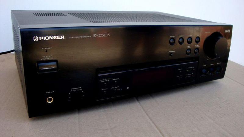 Ресивер ( усилитель + тюнер) PIONEER SX 205 RDS Из Германии. 1...