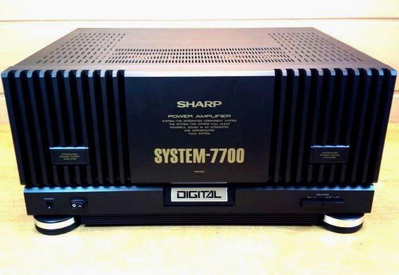 УСИЛИТЕЛЬ SHARP SM SYSTEM 7700. Из Германии.  Мощь! СКАЗОЧНОЕ ...