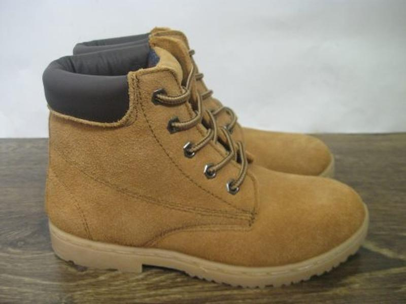 Замшевые ботинки blue base р.1