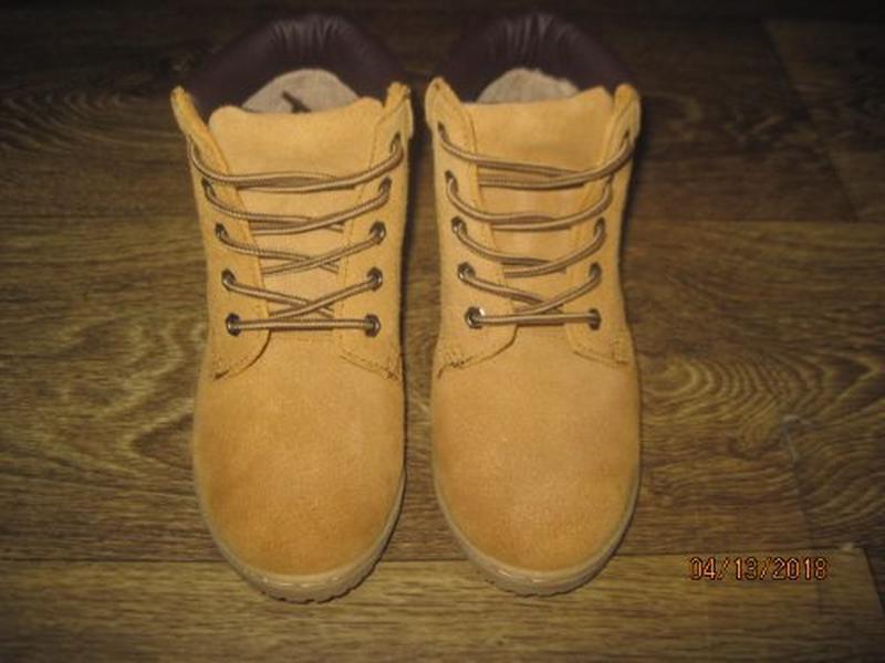 Замшевые ботинки blue base р.1 - Фото 2