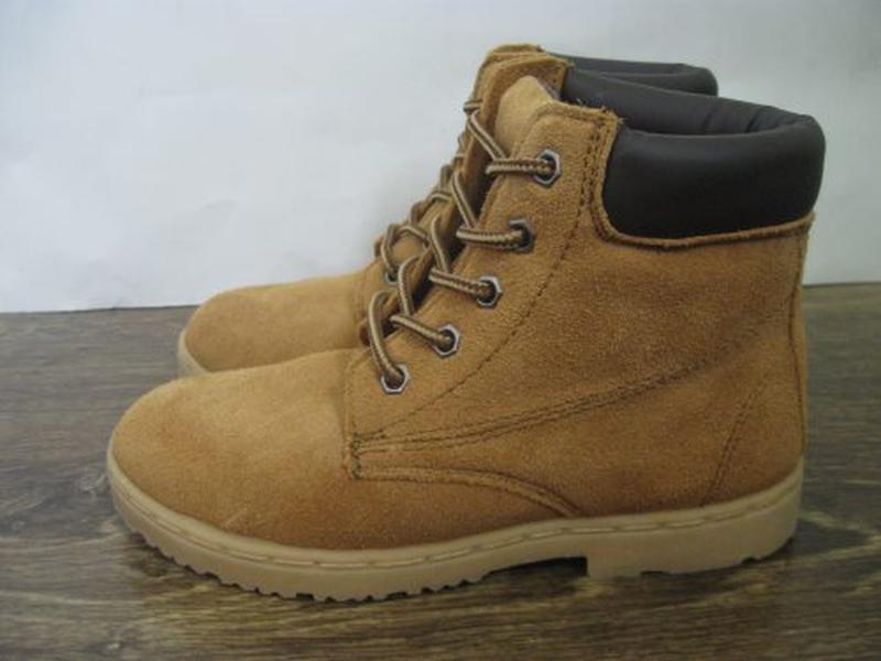 Замшевые ботинки blue base р.1 - Фото 4