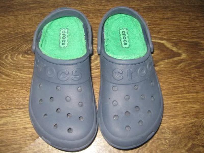 Утепленные crocs р. j 3 - Фото 2