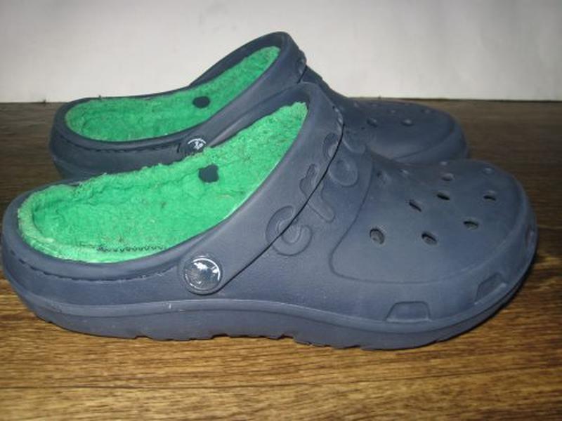 Утепленные crocs р. j 3 - Фото 3