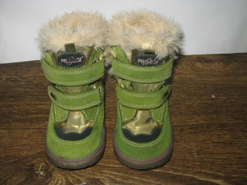 Зимние ботинки primigi gore tex р.25 - Фото 2
