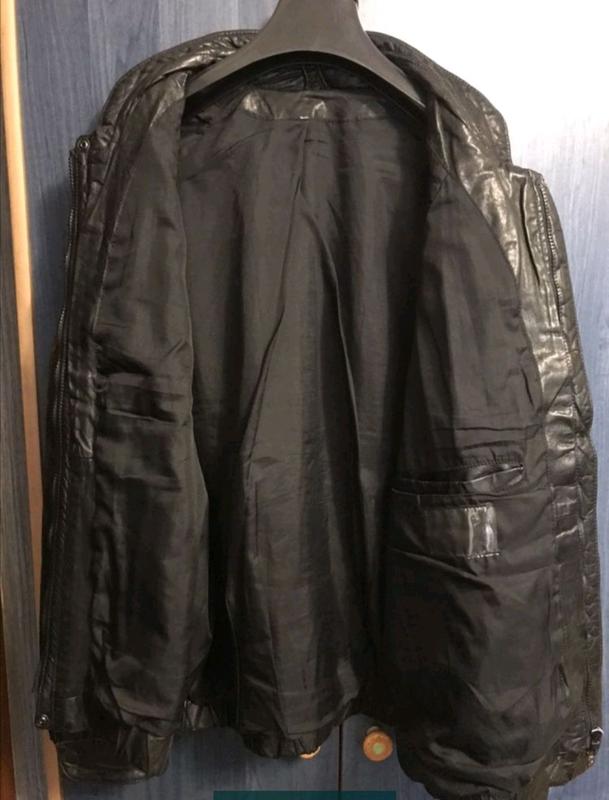 Мужская кожаная куртка - Фото 2
