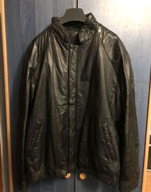 Мужская кожаная куртка - Фото 4